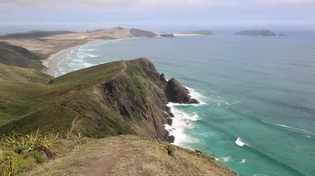 pacífico : View from Cape Reinga, New Zealand Vídeos