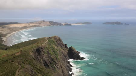 pacífico : Trail on Cape Reinga, New Zealand Vídeos