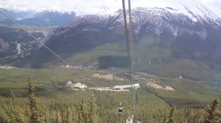 np : Gondola going down, Banff NP, Canada