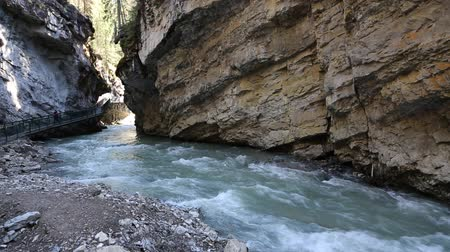 Johnston Canyon River, Banff NP, 캐나다