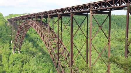 Виргиния : Side view at New River Bridge, WV