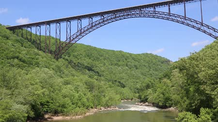 New River canyon and the bridge, West Virginia