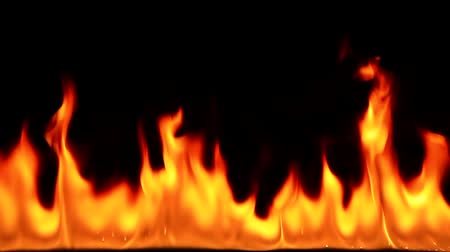 detail : flame Stock Footage