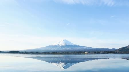 neve : a inverted image of Mt. Fuji