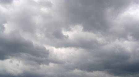 typhoon : timelapse of the cloudy sky Stock Footage