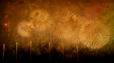 consecutivo : the fireworks in the night sky