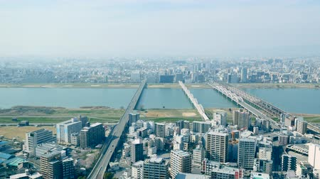 rendes : landscape of Osaka city