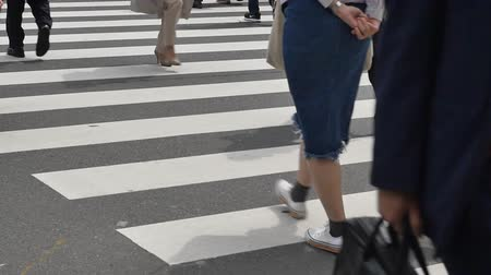 lower part : walking the Japanese worker, no face