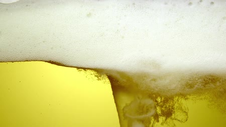 quartilho : close up of the beer
