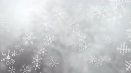 flocos : Snowflakes falling background, UHD 4k 3840x2160.