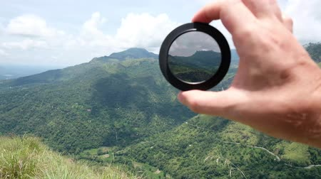 mezun : Polarizing filter for camera lens in photography