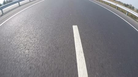 asphalt road : Asphalt road with marking.