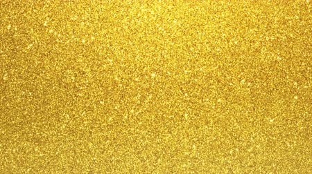 háttér : Golden glimmered seamless loop abstract motion background