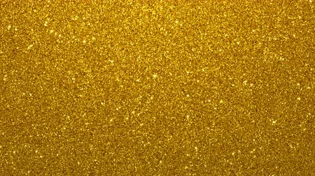 endless gold : Golden glimmered seamless loop abstract motion background