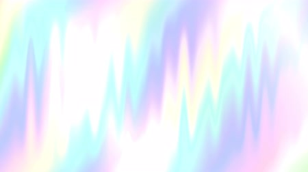 pearl : Trendy bright abstract holographic background. Looped 4K motion graphic. Stock Footage