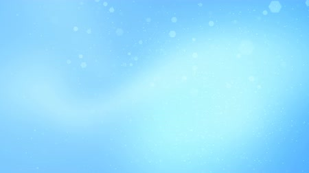 боке : Holiday light blue shining background. Seamless loop abstract image. Стоковые видеозаписи