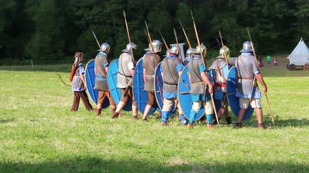 legionary : Roman army is marching