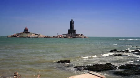 philosopher : Vivekananda Rock Memorial and Thiruvalluvar Statue, Kanyakumari, India