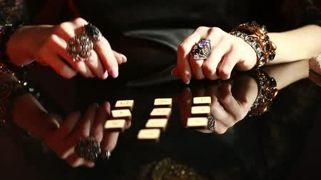 foretell : fortuneteller. divination by the runes.