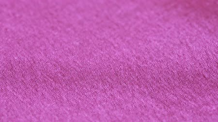 sensuous : Smooth elegant lilac silk or satin texture can use as background. soft tissue Stock Footage
