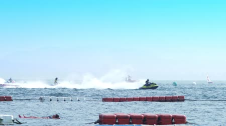 náutico : editorial. Water sports. Aquatics motorsport competitions in Thailand, in the city of Pattaya, December 7, 2018.