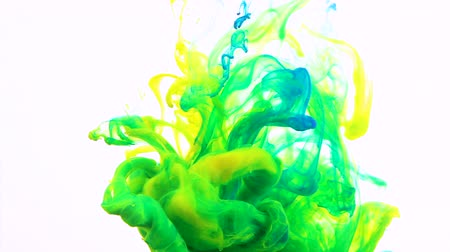 Motion Color drop in water, Ink swirling in water, Colorful ink
