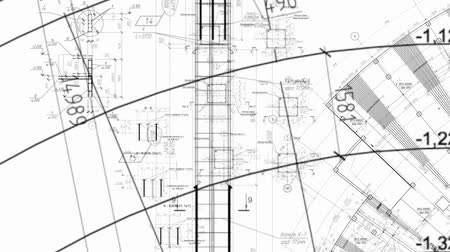 vonalvezetés : Construction drawings go in perspective
