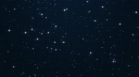 doted : Abstract background with animation of glowing dots. Spangle Glitter background.