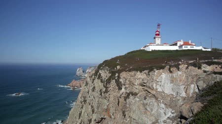 Cabo da Roca is a cape which forms westernmost point of both mainland Portugal, mainland Europe and Eurasian land mass Vídeos