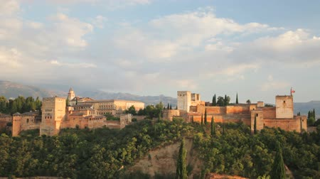 Granada, Spain - September 15, 2013: The Alhambra is a palace and fortress located in Granada, Andalusia, Spain.