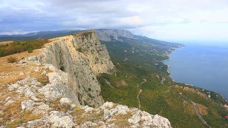 Mountain landscape in Crimea.
