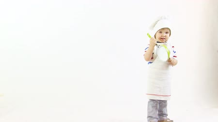 chef cooking : young cook