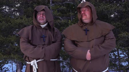 dissenter : Two monks of the order of St. Francis