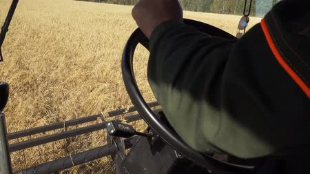 forgó : View on Harvest Through the Eyes of Combine Driver