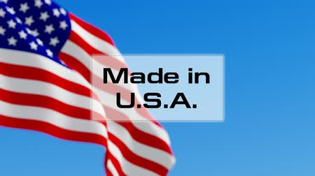 készült : Made in USA. American made. Product of America concept