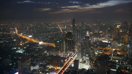 резидент : Night cityscape in Bangkok
