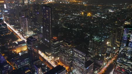 Night cityscape in Bangkok