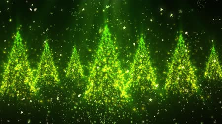 feliz natal : Christmas New Year Tree Glitters 1 Loopable Background, A Full HD, 1920x1080 Pixels, seamlessly looped animation,  High Quality Quicktime Loopable animation works with all Editing Programs,  Simply Loop it for any duration
