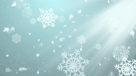 eucharystia : Christmas Winter Snowflakes 2 Loopable Background, A Full HD, 1920x1080 Pixels, seamlessly looped animation,  High Quality Quicktime Loopable animation works with all Editing Programs,  Simply Loop it for any duration