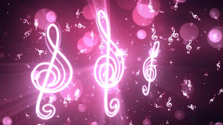 soutěže : Music Notes 2 Loopable Background, A Full HD, 1920x1080 Pixels, seamlessly looped animation,  High Quality Quicktime Loopable animation works with all Editing Programs,  Simply Loop it for any duration