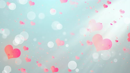eleganckie : Romantic Hearts 3 Loopable Background, A Full HD, 1920x1080 Pixels, seamlessly looped animation,  High Quality Quicktime Loopable animation works with all Editing Programs,  Simply Loop it for any duration