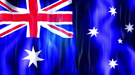 kriket : Australia Flag Animation, Ultra HD, 3840x2160 Pixels, Realistic Flag Animation, High Quality Quicktime animation Movie works with all Editing Programs, 20 Seconds Duration