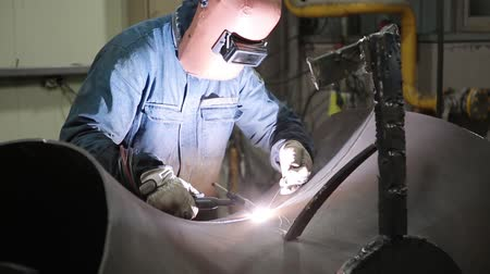 weld a bent pipe
