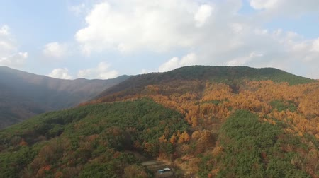 the mountains of autumn