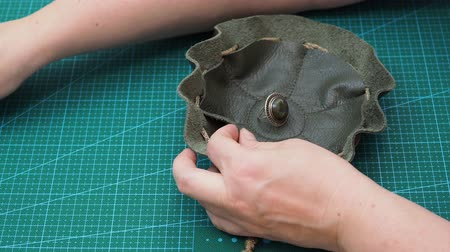 pulling rope : workshop for making jewelry bag for women