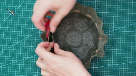 шнур : workshop for making jewelry bag for women