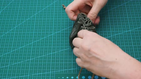 тянуть : workshop for making jewelry bag for women