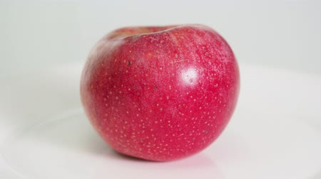 whole red apple