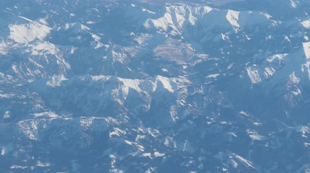 alpi : aerial panorama of alps