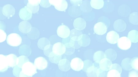 High quality animation of abstract silver Christmas background with bokeh defocused lights HD, high definition 1080p